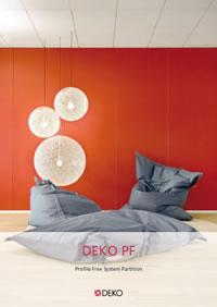 Katalog DEKO PF